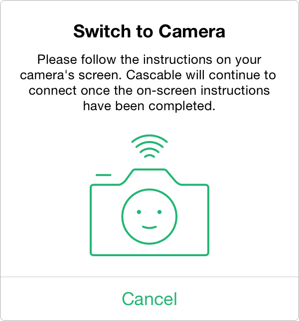 Cascable: Fujifilm Connection Guide
