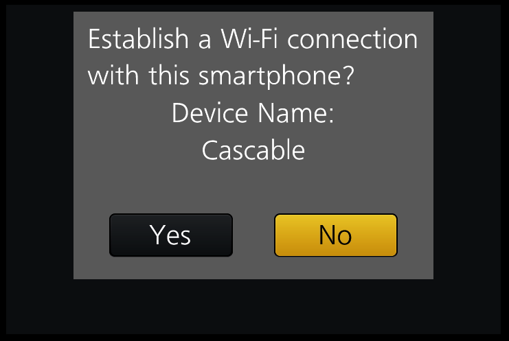 Cascable: Panasonic Connection Guide