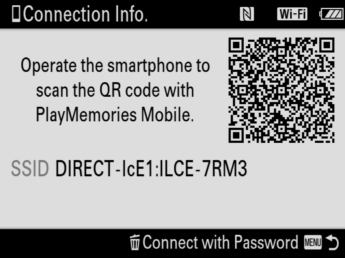 Cascable: Sony (Without PlayMemories Apps) Connection Guide